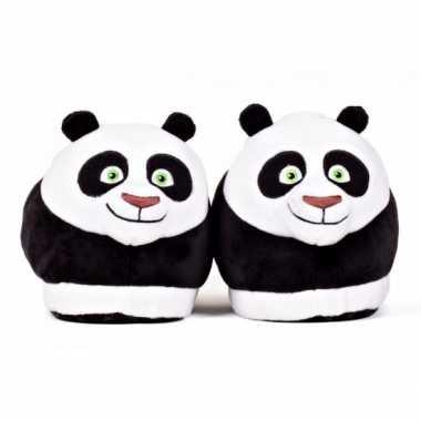 Dames kung fu panda po sloffen voor volwassenen