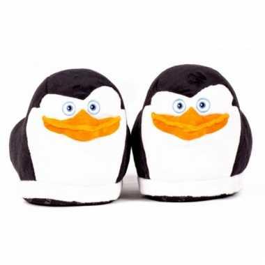 Dames  Madagascar pinguin Skipper sloffen voor volwassenen