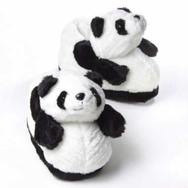 Dames zachte dieren sloffen panda