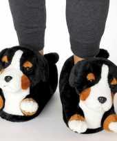 Dames dieren berner sennen hond sloffen sloffen voor kinderen maat 34 36