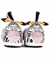 Dames madagascar zebra marty sloffen voor volwassenen